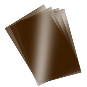 Asetat Kağıdı Siyah Renk Şeffaf 250 Mikron 35*50 cm 5'li