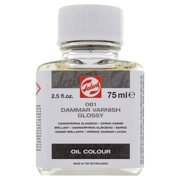 Talens Dammar Varnish Glossy 081 Damar Vernik Parlak 75ml