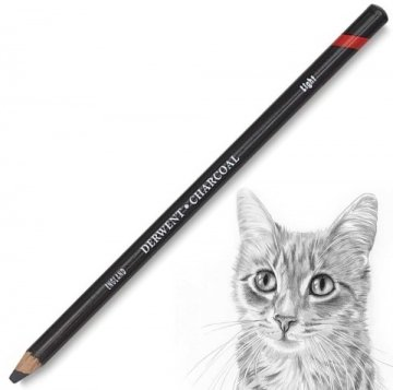 Derwent Charcoal Pencils Kömür Füzen Kalem Light (Açık)