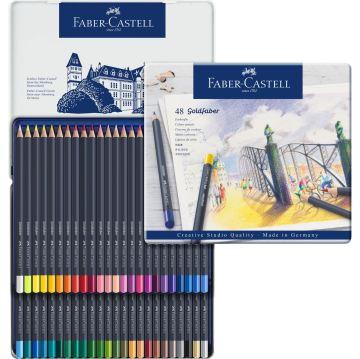 Faber Castell Creative Studio Goldfaber Colored Kuru Boya Kalemi 48 Renk