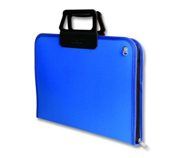 Faber Castell Proje Çantası 28x38 cm Mavi