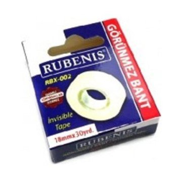 Rubenis Görünmez Bant 18 mm x 30 metre