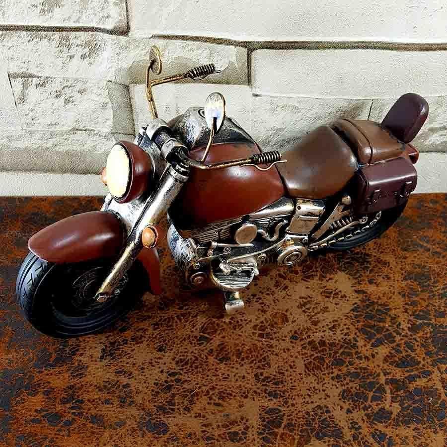 dekoratif el yapimi motosiklet