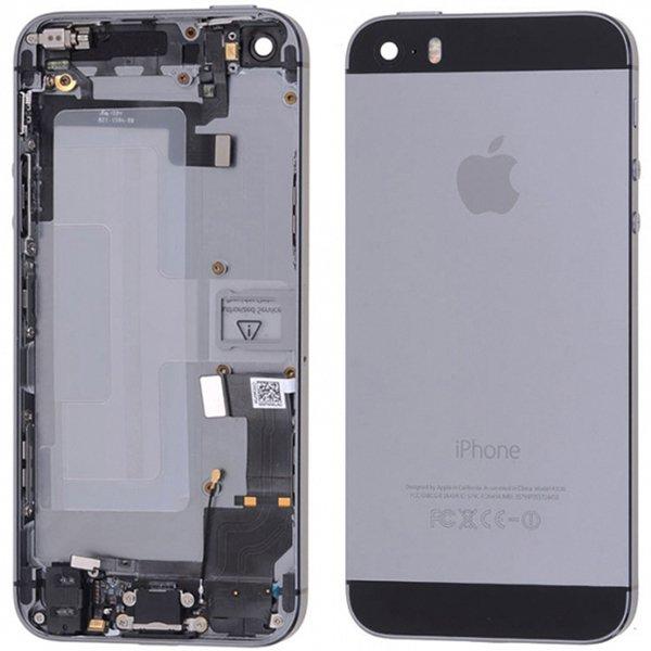 Iphone 5s Kasa Full Dolu Uzay Grisi Siyah