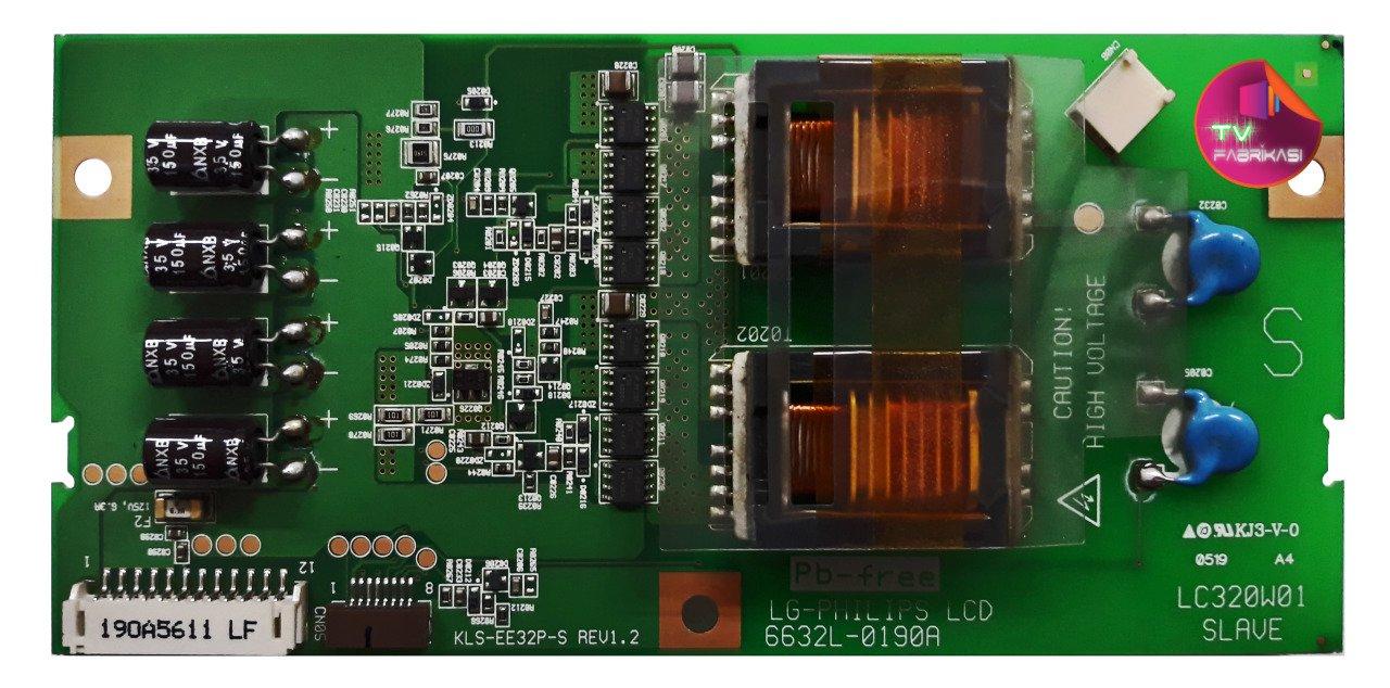 6632L-0190A , KLS-EE32P-S , REV1 2 , LG-PHILIPS LCD , LC320W01 , PHİLİPS  32PF9996/37 , LG 32LX1D , LG RZ-32LZ50 , SLAVE , LCD TV İNVERTER BOARD