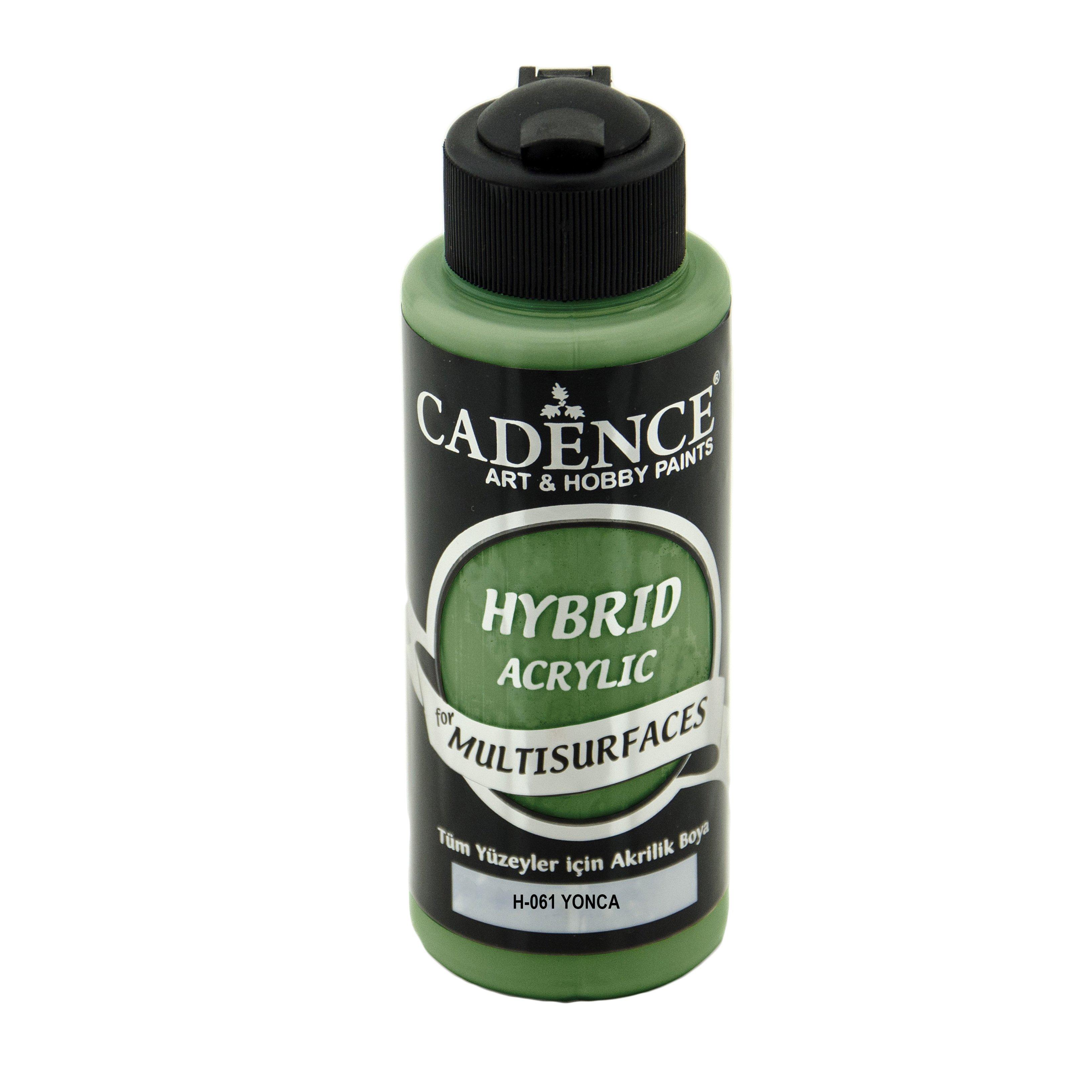Cadence Hybrid Multisurface Akrilik Boya 120ml H 061 Yonca 10 00