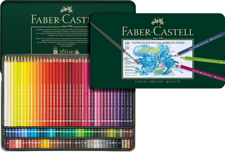Faber Castell Albrecht Dürer Aquarell Boya Kalemi 120 Renk - 1.350,00 TL |  Hakikat Kırtasiye