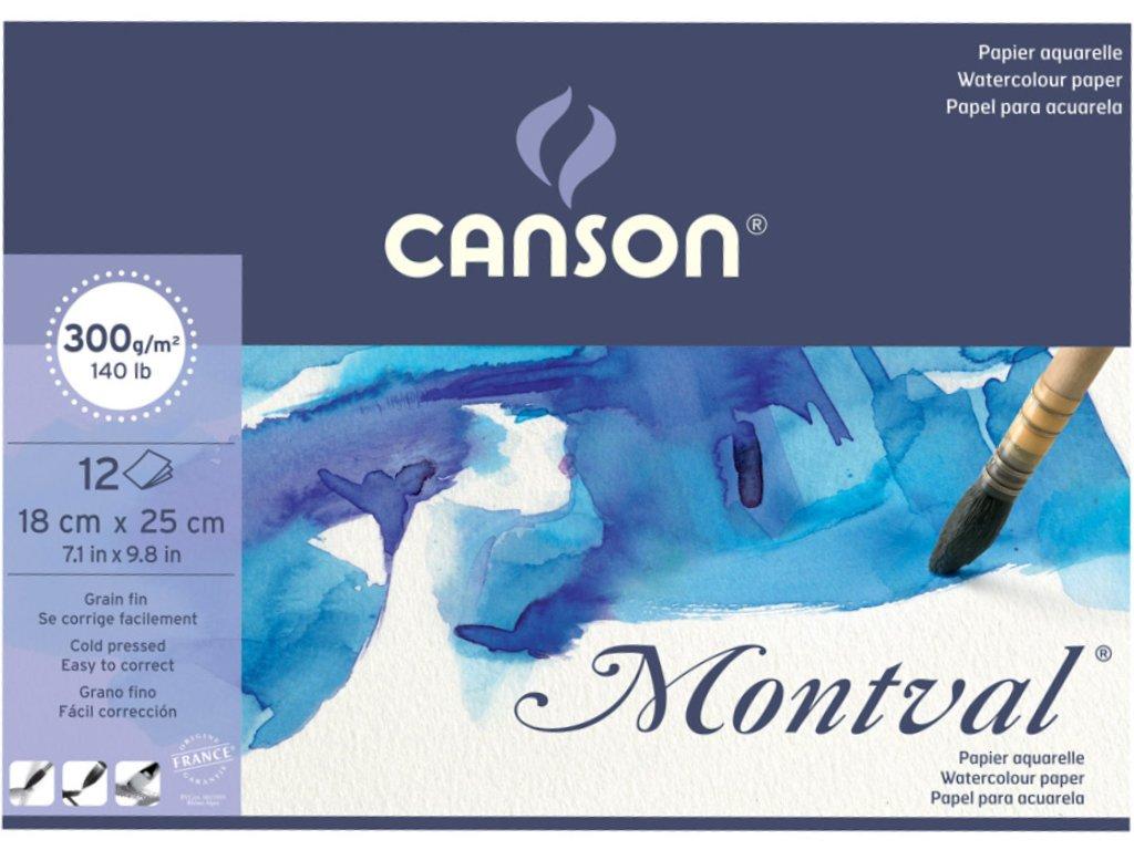 Canson Montval Suluboya Defteri A5 300gr 12 Sayfa 22 14 Tl