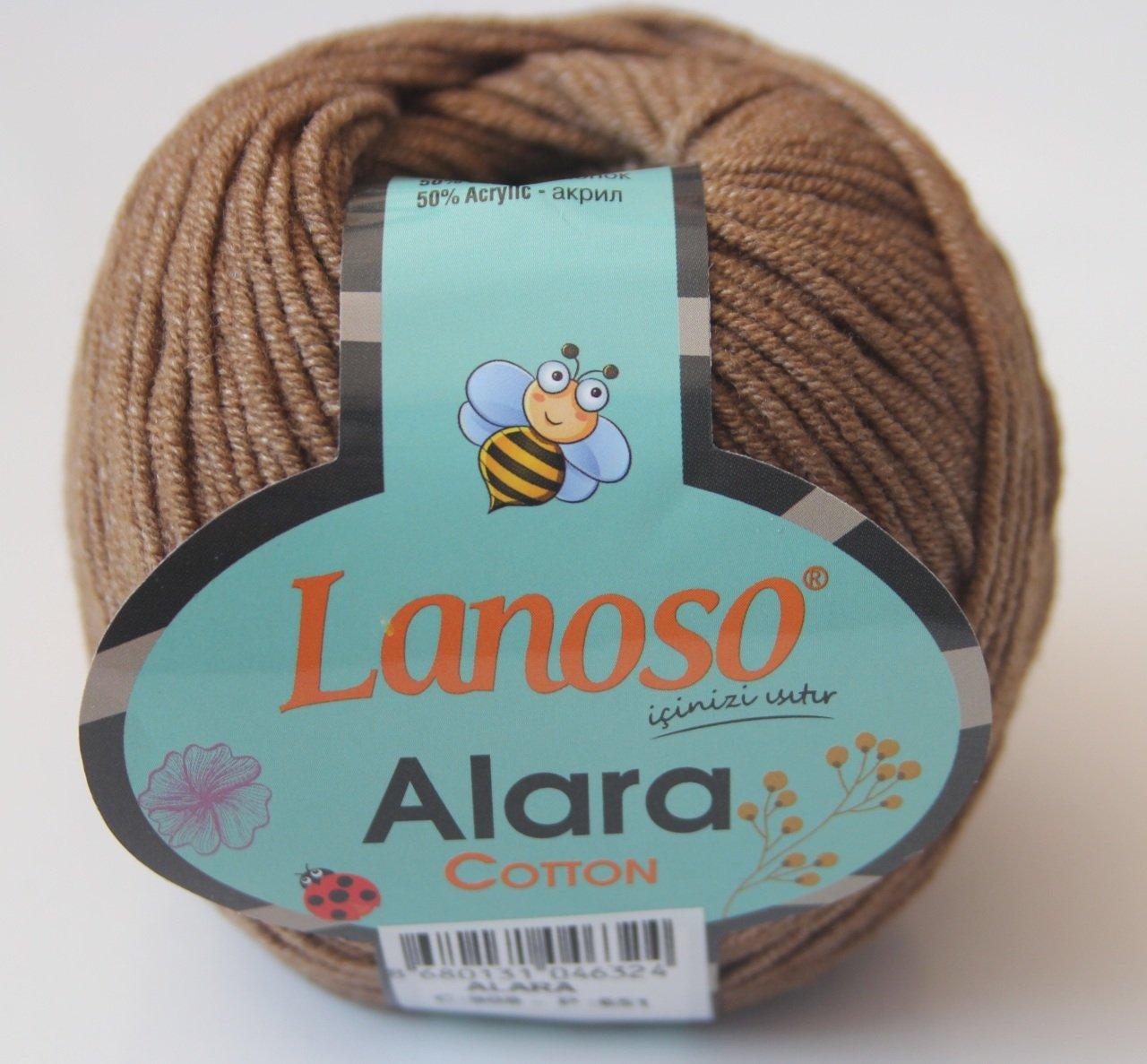 LANOSO ALARA - EL ÖRGÜ İPLİKLERİ - Zeynonun Dükkanı | 1187x1280