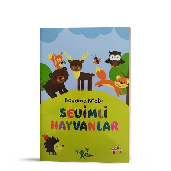 Sevimli Hayvanlar Boyama Kitabi Sehadet Kitap