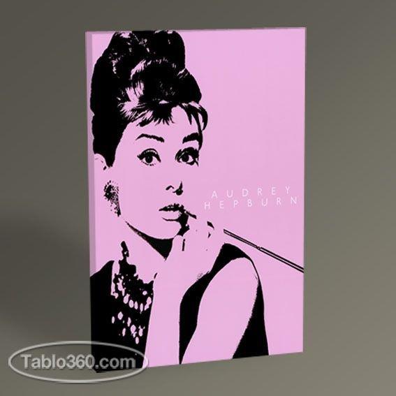 Audrey Hepburn Pop Art Tablo