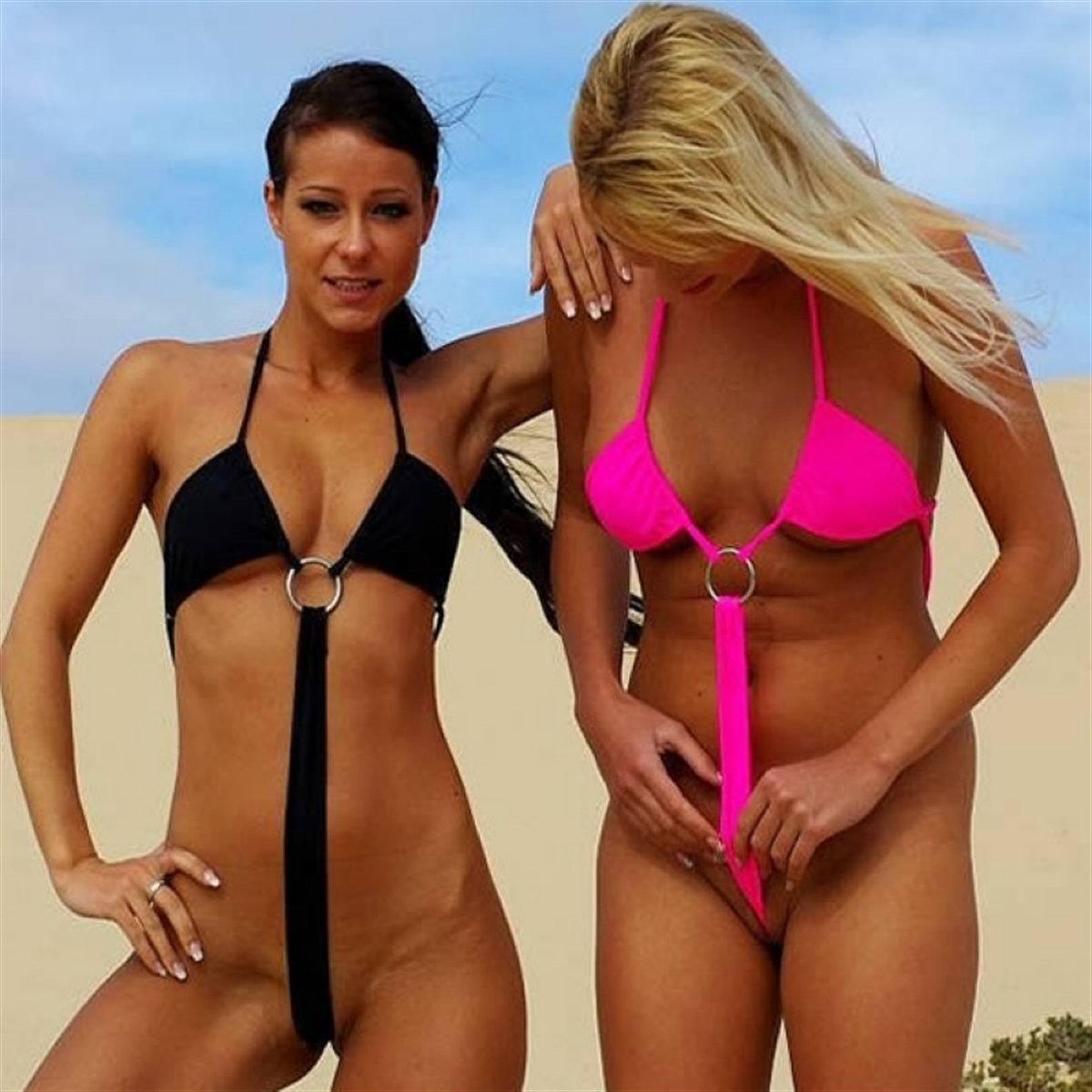 это классное экстремальные бикини на пляже фото кисти руки