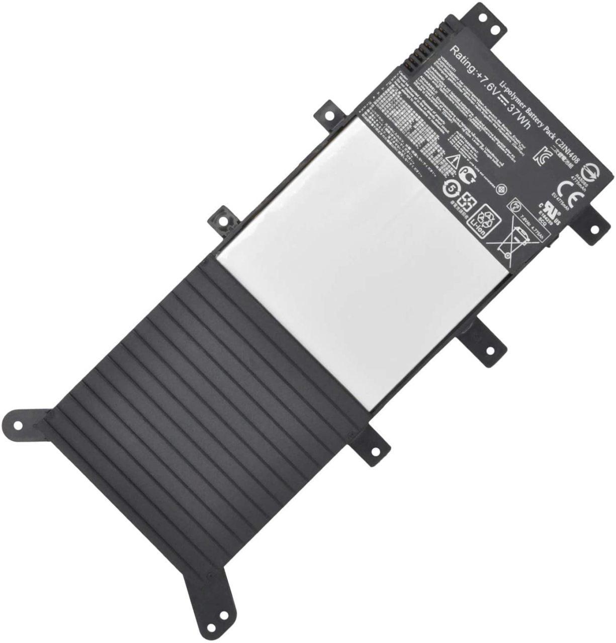 Asus Muadil C21N1408 A555 K555, K555L, K555LA, K555LB, K555U, K555UB, K555L, K555LN Batarya Pil