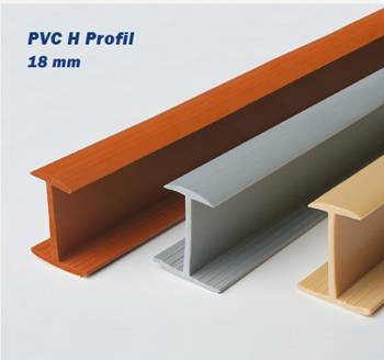 PVC Mm H PROFİL Metre Kenar Kapama Ve Birleştirme - Pvc antik optik
