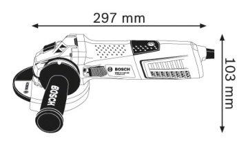bosch professional gws 13 125 cie avu ta lama makinesi 840 96 tl. Black Bedroom Furniture Sets. Home Design Ideas