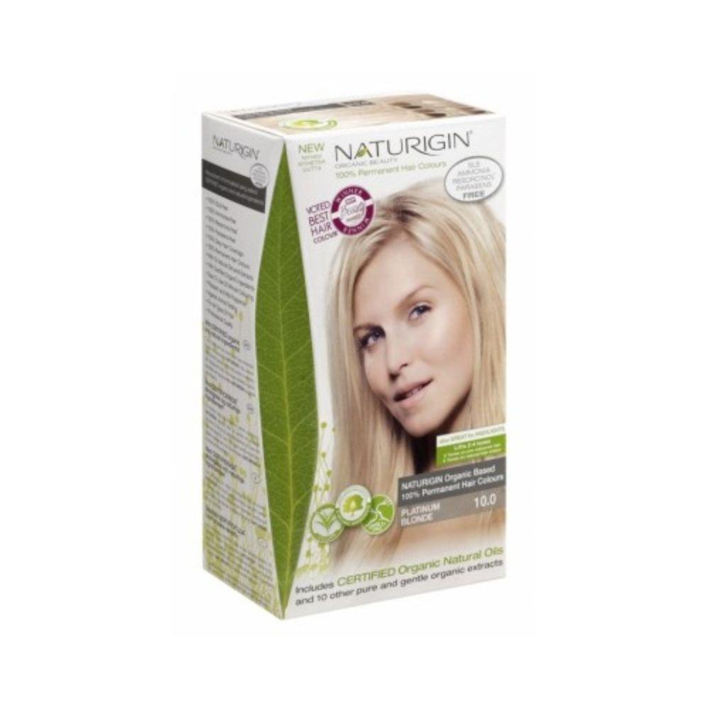 Naturigin 100 Platin Sarı Organik Saç Boyası 115ml