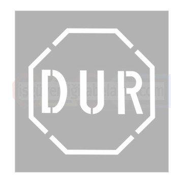 Dur Aluminyum Sablon Is Guvenligi Levhalari Aluminyum Metal