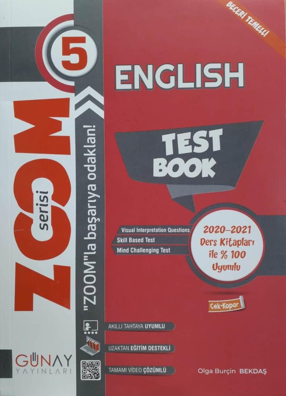 Günay Yayınları 5. Sınıf İngilizce Soru Bankası