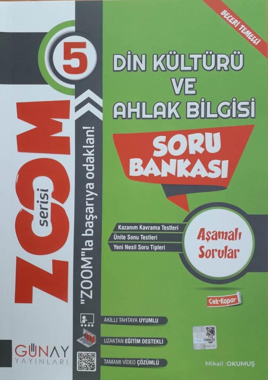 Günay Yayınları 5. Sınıf Din Kültürü Zoom Soru Bankası