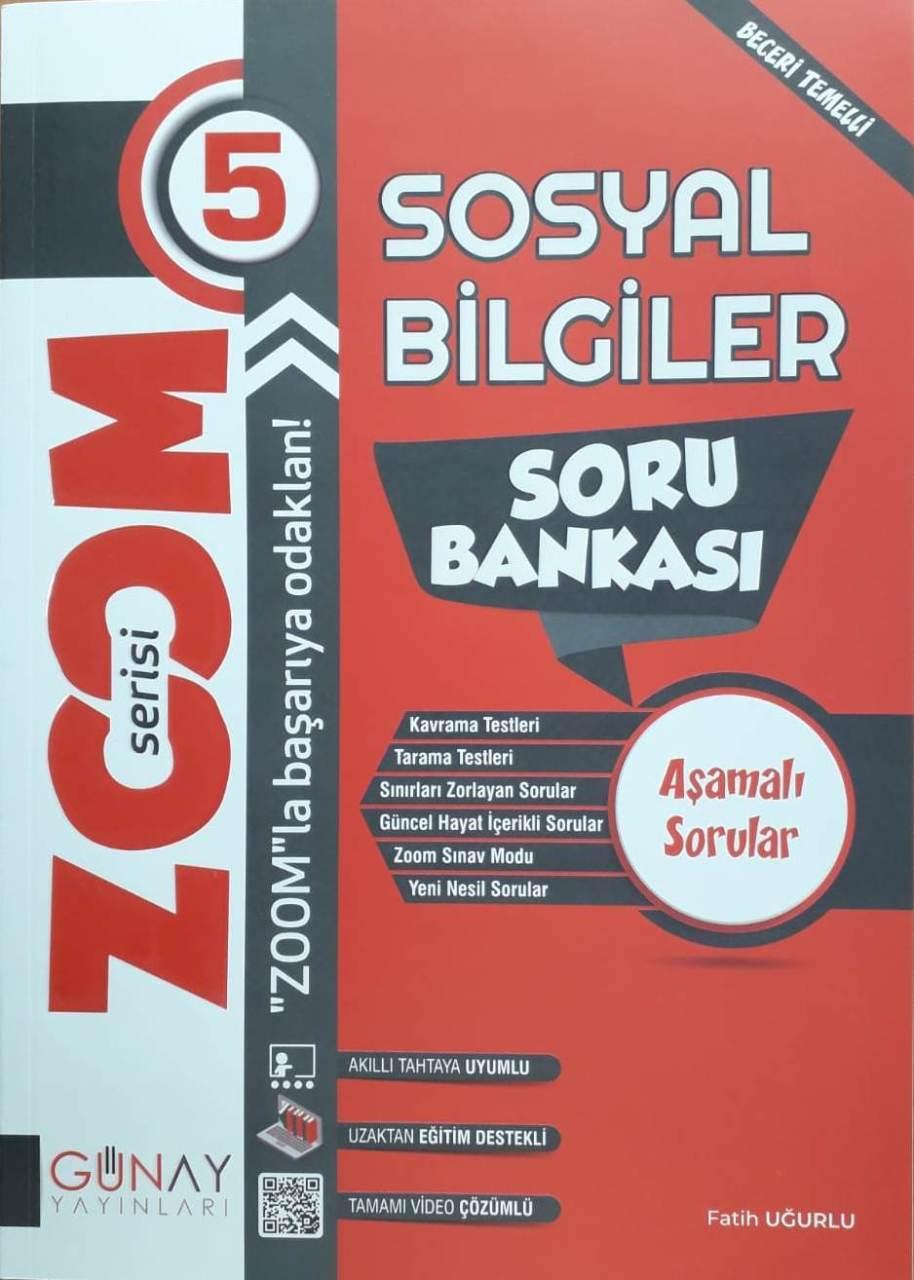 Günay Yayınları 5. Sınıf Sosyal Bilgiler Zoom Soru Bankası
