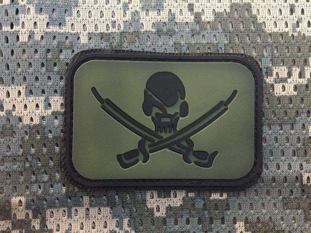 Tactical Pirate Patch Kuru Kafa Peç
