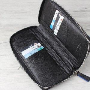 ad383cff38365 Siyah Renk Fermuarlı Deri Kartlık ve Telefon Kılıf - Tesbihevim