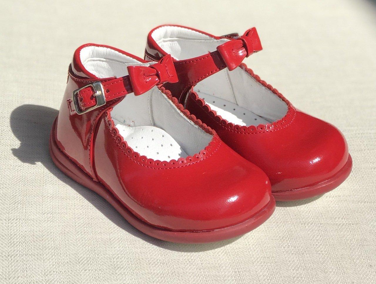 Yeni Sezon Kirmizi Rugan Ayakkabi