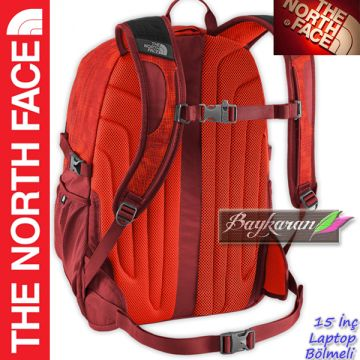 3de83f59af338 ... RECON MODELİ THE NORTH FACE 15 İnç LAPTOP BÖLMELİ SIRT ÇANTASI Füme Renk  T0CE81UOS