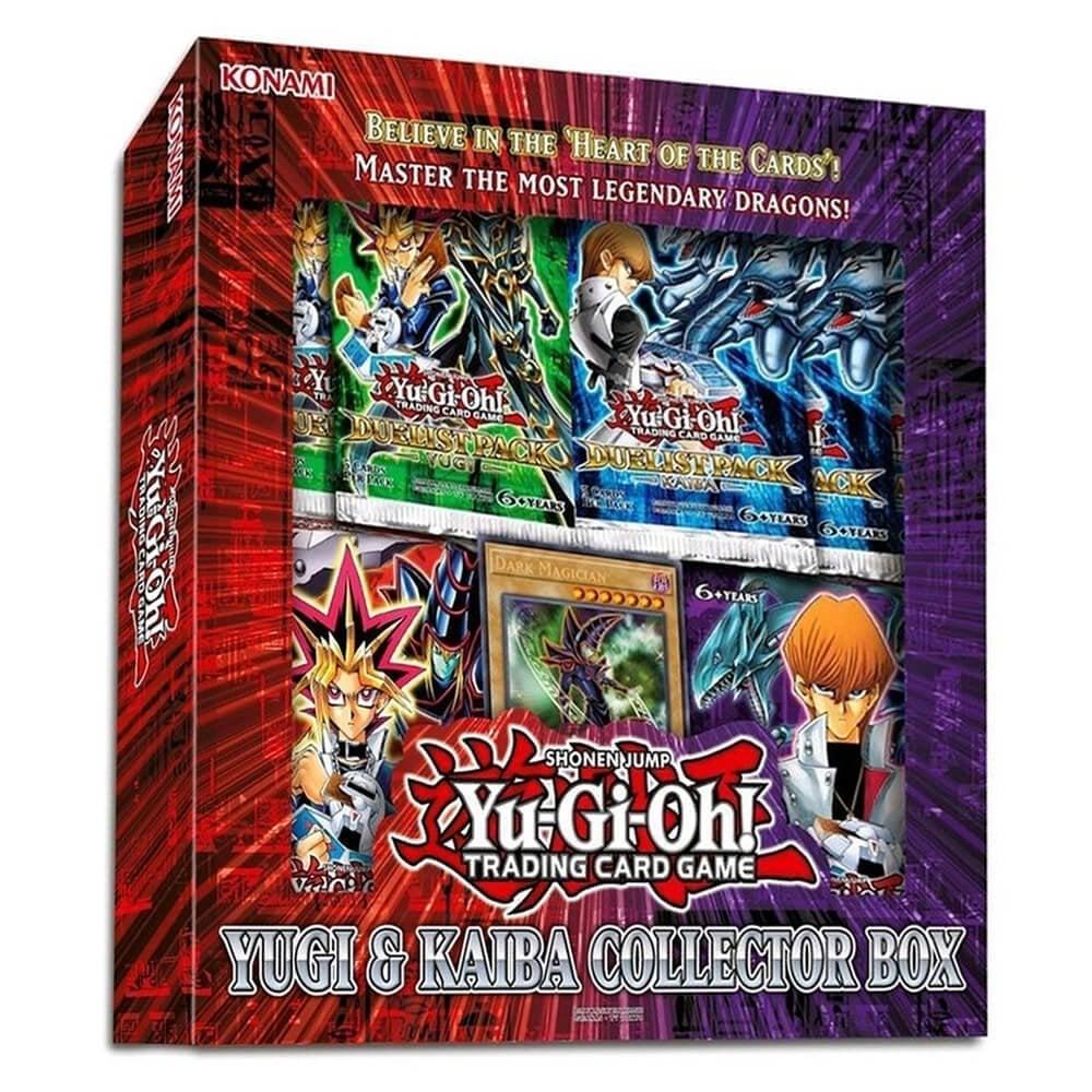 yu gi oh yugi and kaiba collector box