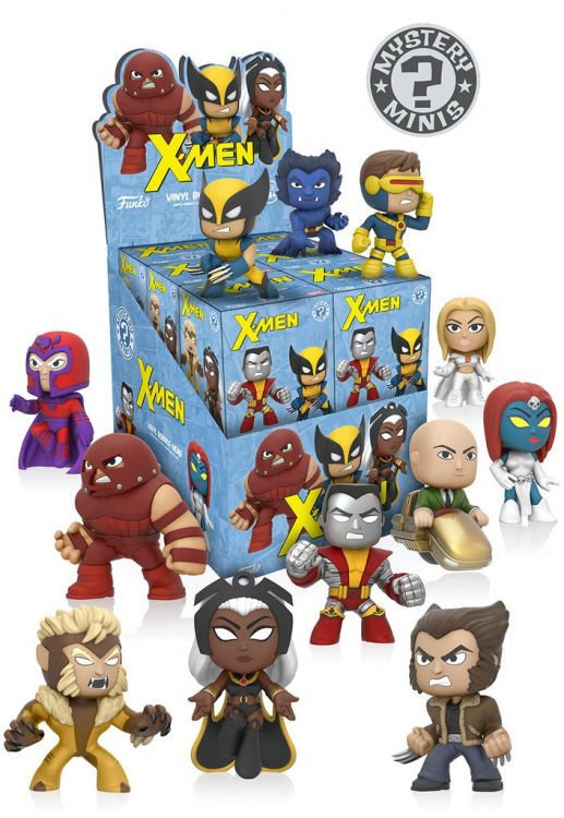Funko Mystery Mini X Men Serie 1