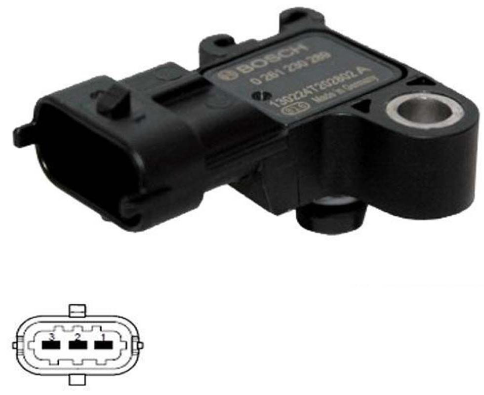 Opel Corsa D 1.2 - 1.4 Map Sensörü Bosch