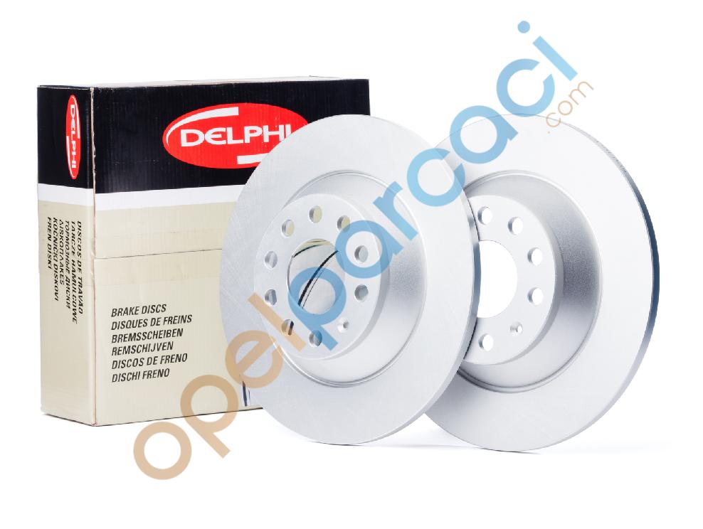 Opel Combo C Arka Fren Disk Takımı 4 Bijon Delphi