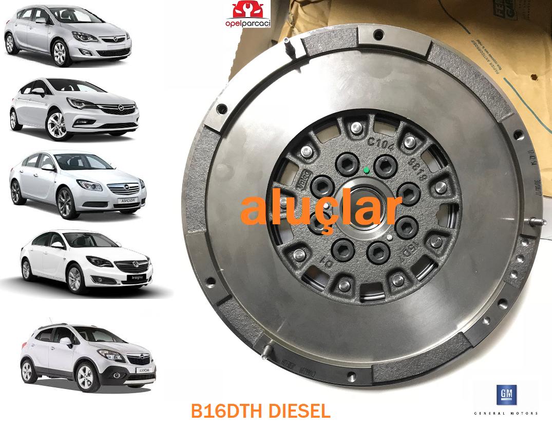 Opel Astra J 1.6 Dizel Volan B16DTH