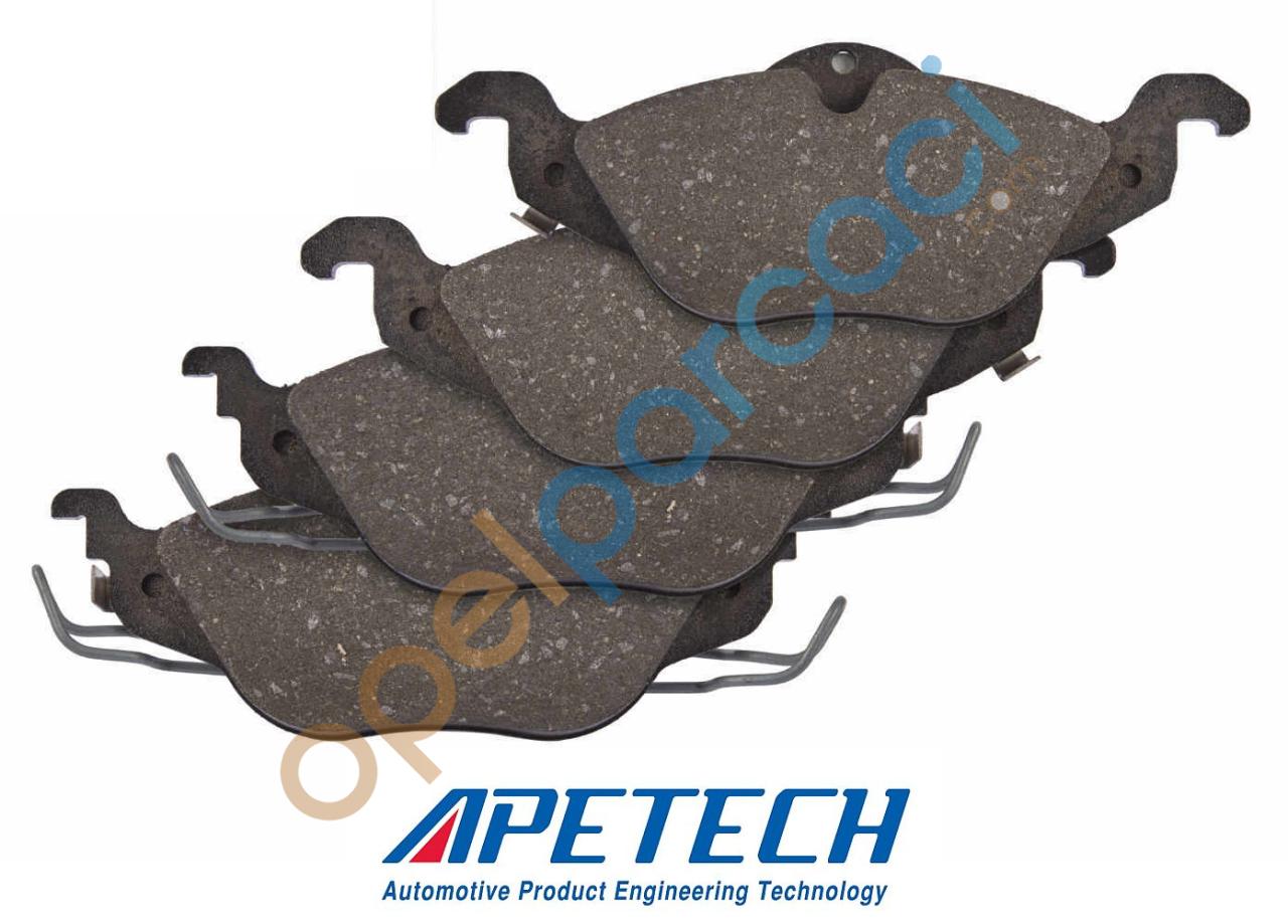 OPEL Astra G Ön Fren Balatası Takımı 1.4 - 1.6 Motorlar APETECH