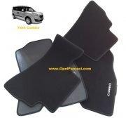 Opel Yeni Combo D Halı Paspas Takımı Siyah
