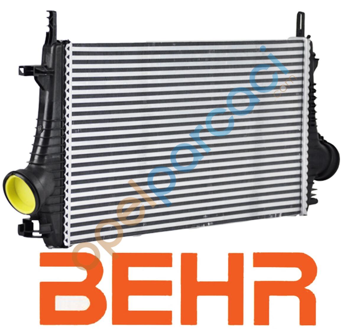 Opel İnsignia Turbo Intercooler Radyatörü 1.6 - 2.0 (A16LET-2.0 DİZEL) Motorlar BEHR