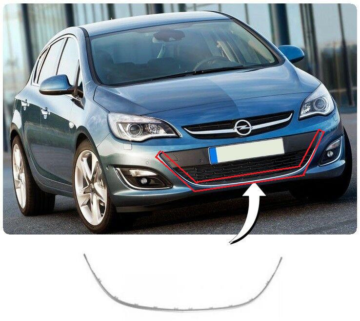 Opel Astra J Ön Tampon Orta Izgara Krom Çıtası