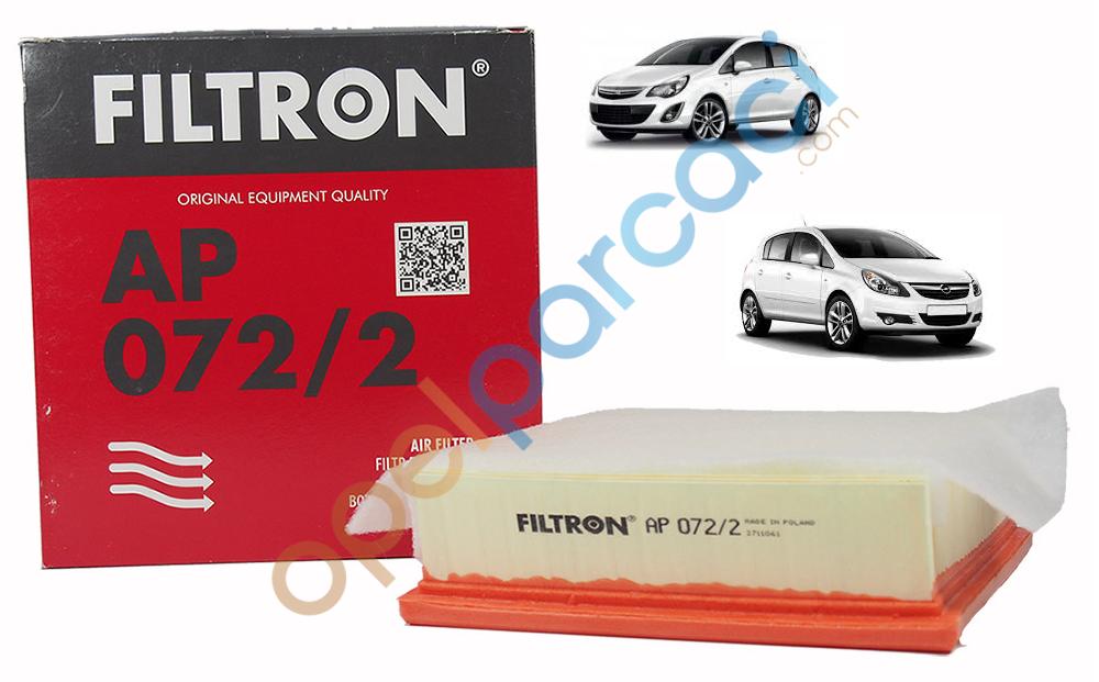 Opel Corsa D Hava Filtresi DIZEL Motorlar Süngerli FILTRON
