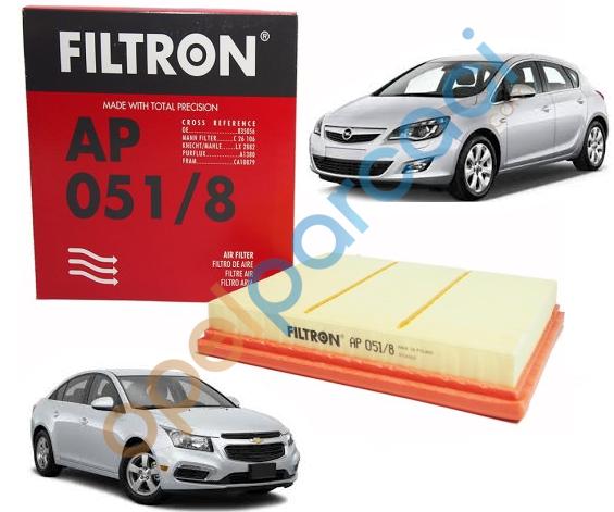 Chevrolet Cruze Hava Filtresi Benzinli FILTRON
