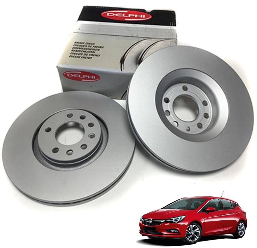 Opel Astra K Ön Fren Disk Takımı 300 MM DELPHİ