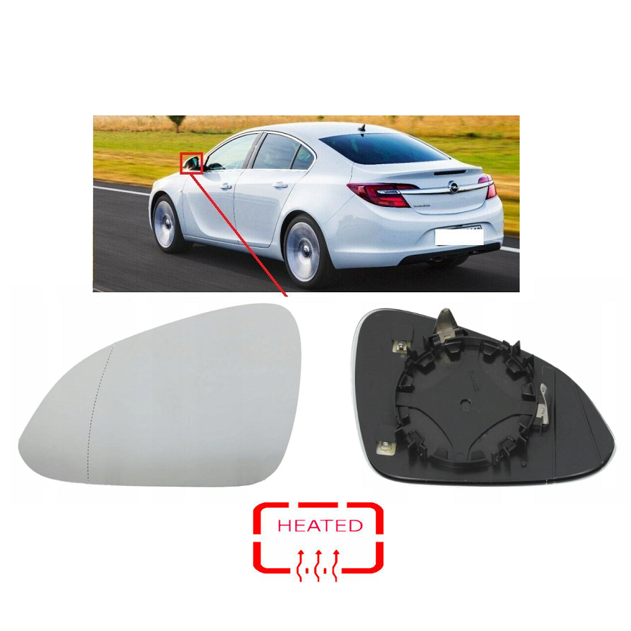 Opel İnsignia Ayna Camı Sol İthal