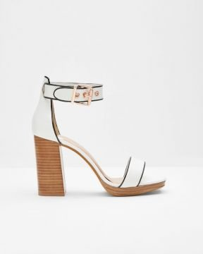 30b78dc63 LORNO Open toe block heeled platform sandals - Ayakkabı
