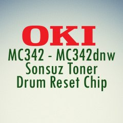 mc342 chip reset, mc332 chip reset | Oki Sonsuz Chip