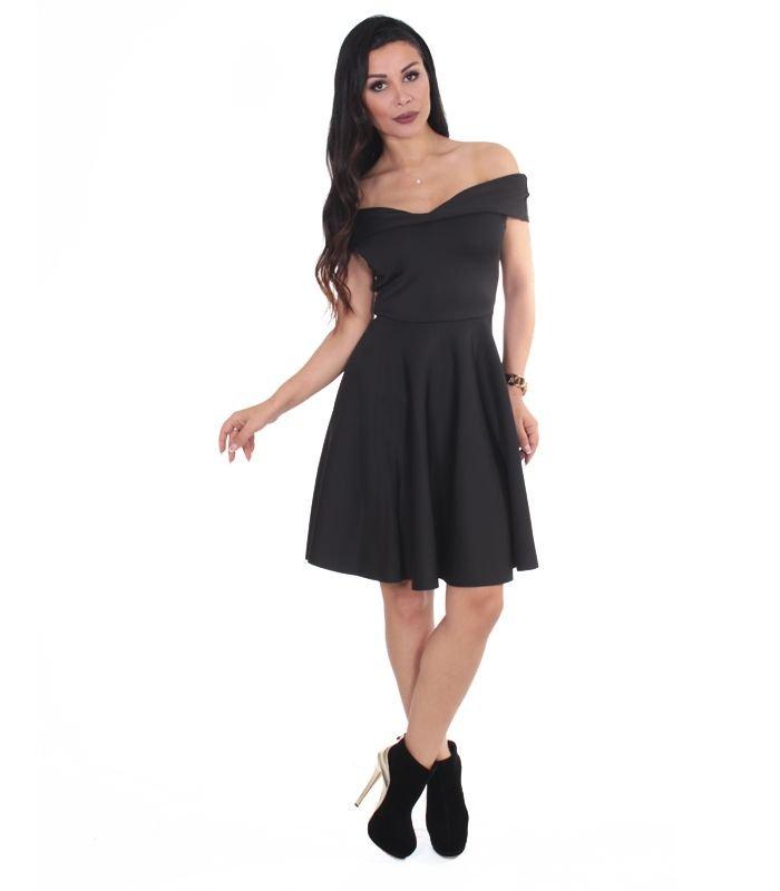 4e81999e78187 Kap-in - Straplez Siyah Elbise Straplez Siyah Elbise 65,00 TL