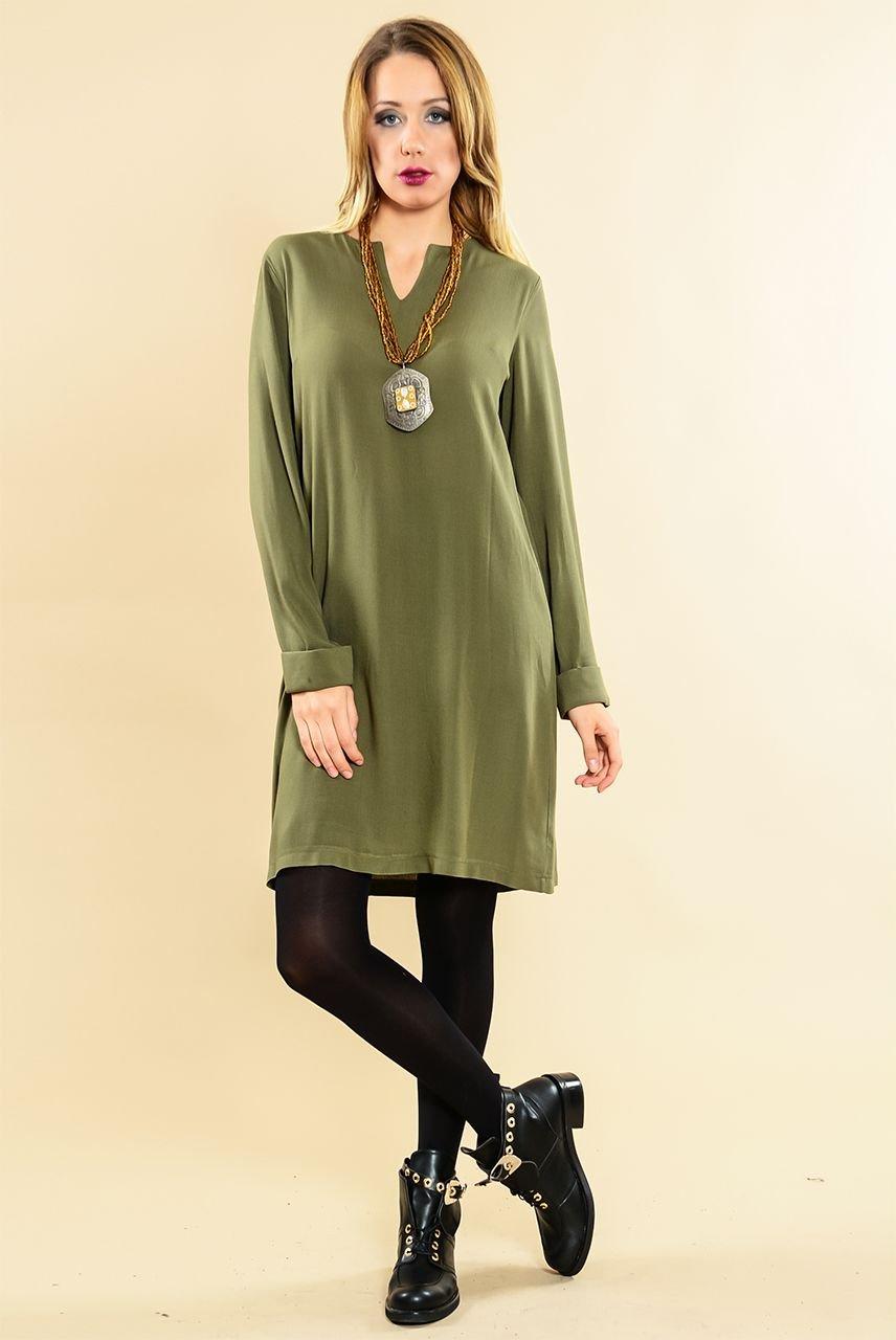 7f2e4c45d8e77 Otantik ve Bohem Tarz Bayan Kışlık Elbise Modelleri | Etnik Esintiler