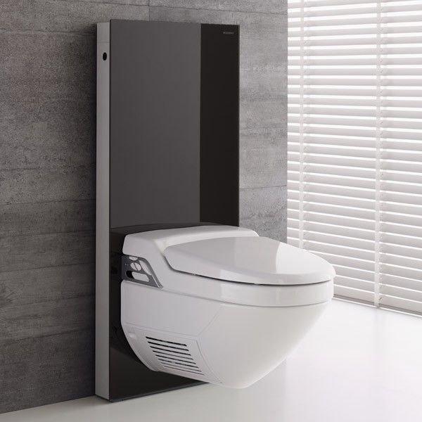 geberit monolith plus rezervuar aquaclean klozet in 101 cm siyah. Black Bedroom Furniture Sets. Home Design Ideas