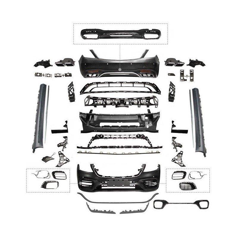 Mercedes w222 s65 body kit tampon seti 2018+ s serisi