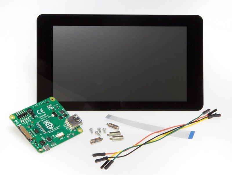 Raspberry Pi 7 Inch Dokunmatik Ekran Orijinal