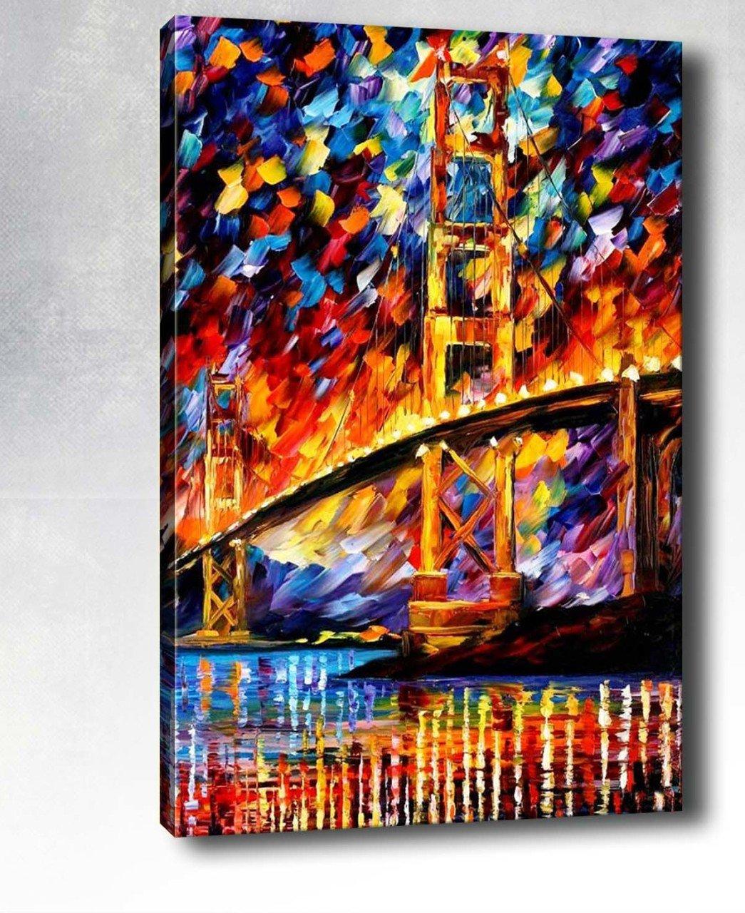 Köprü Manzara Yağlı Boya Tablo
