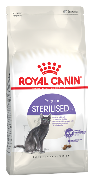 royal canin sterilised 37 kisirla tirilmi kedi mamasi 4 kg royal canin k s rla t r lm kedi. Black Bedroom Furniture Sets. Home Design Ideas